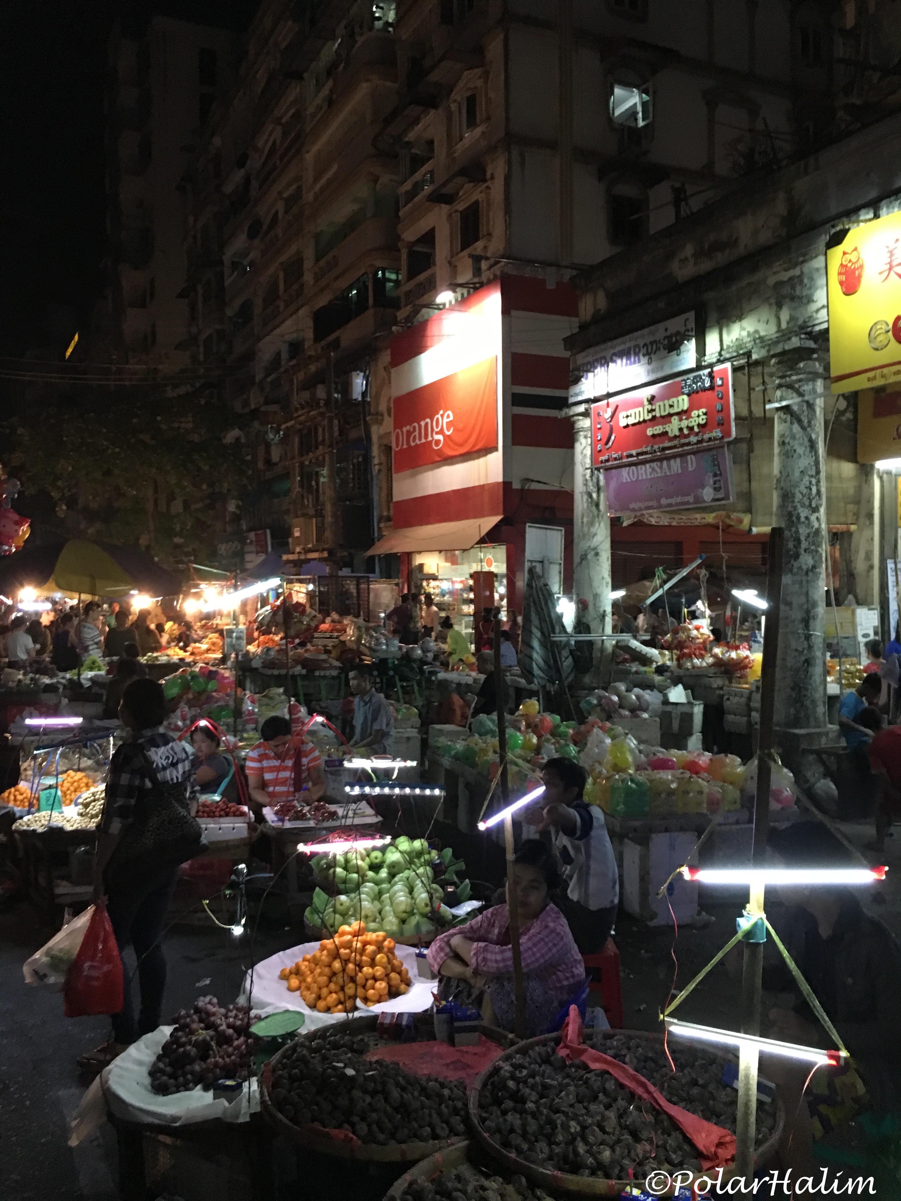 Chinatown Yangon