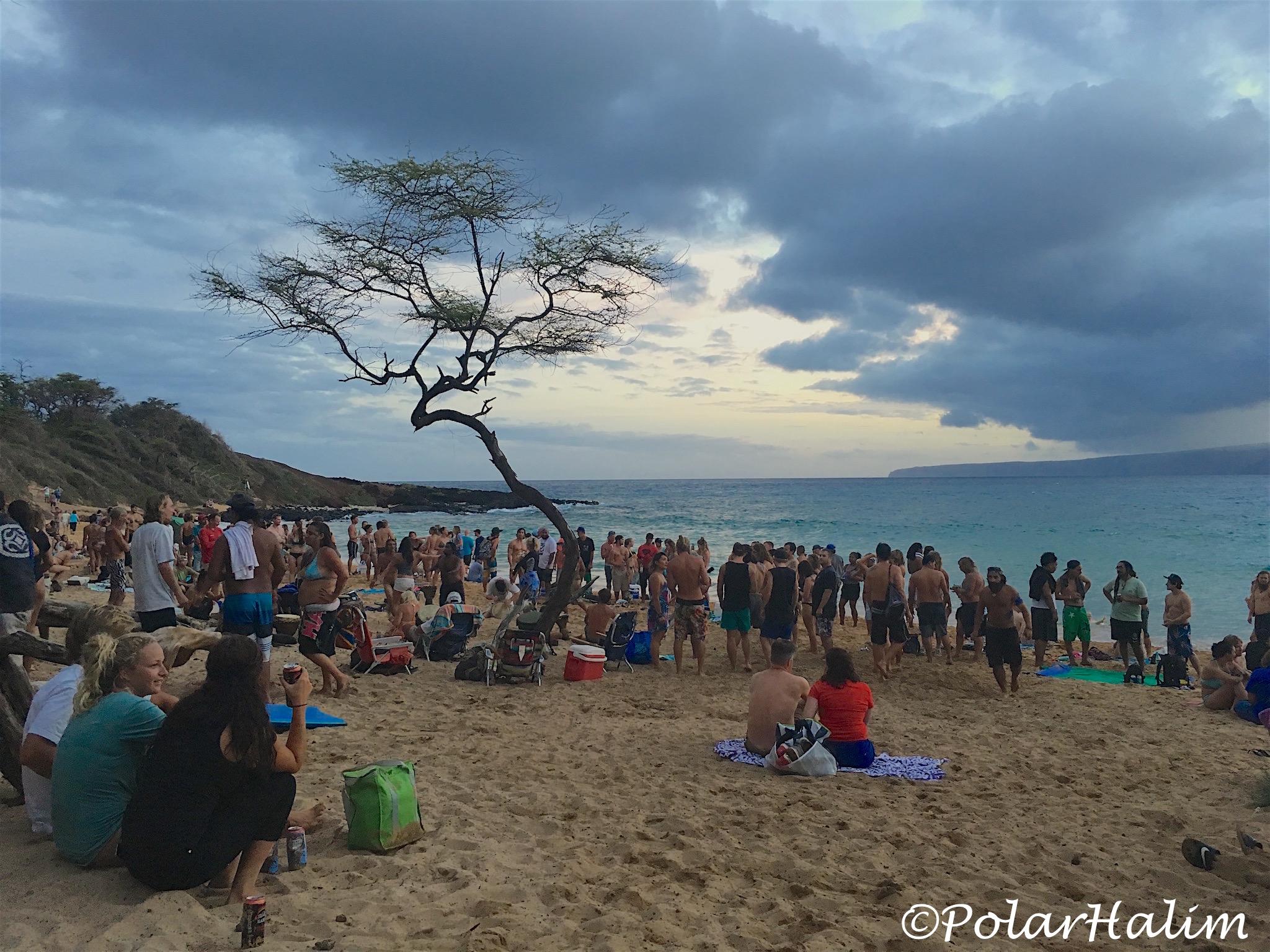 Drum Circle Maui